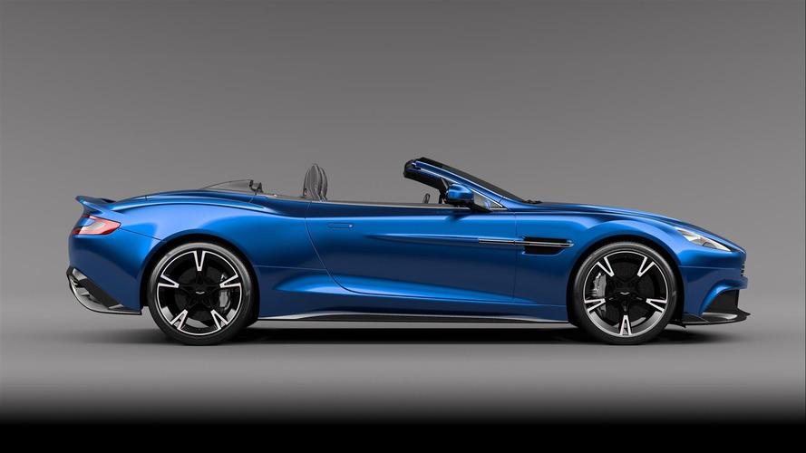 L'Aston Martin Vanquish S Volante se présente en photos