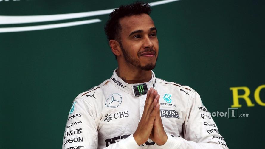 Lewis Hamilton facing