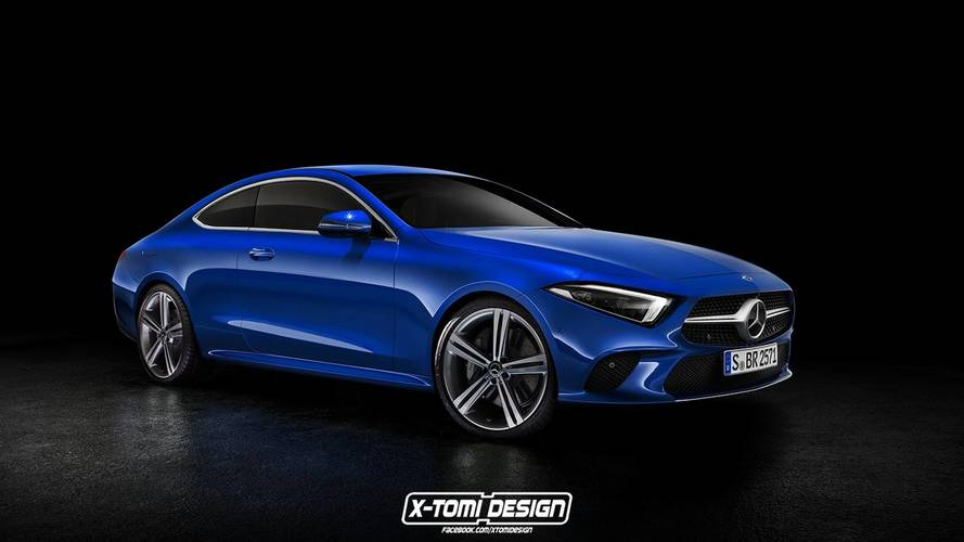 Mercedes-Benz CLS Coupe render 2019