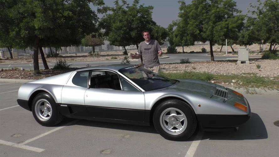 Even Supercar Drivers In Dubai Can Appreciate A Ferrari 512 BB