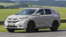 2018 Honda CR-V spy photos from Germany