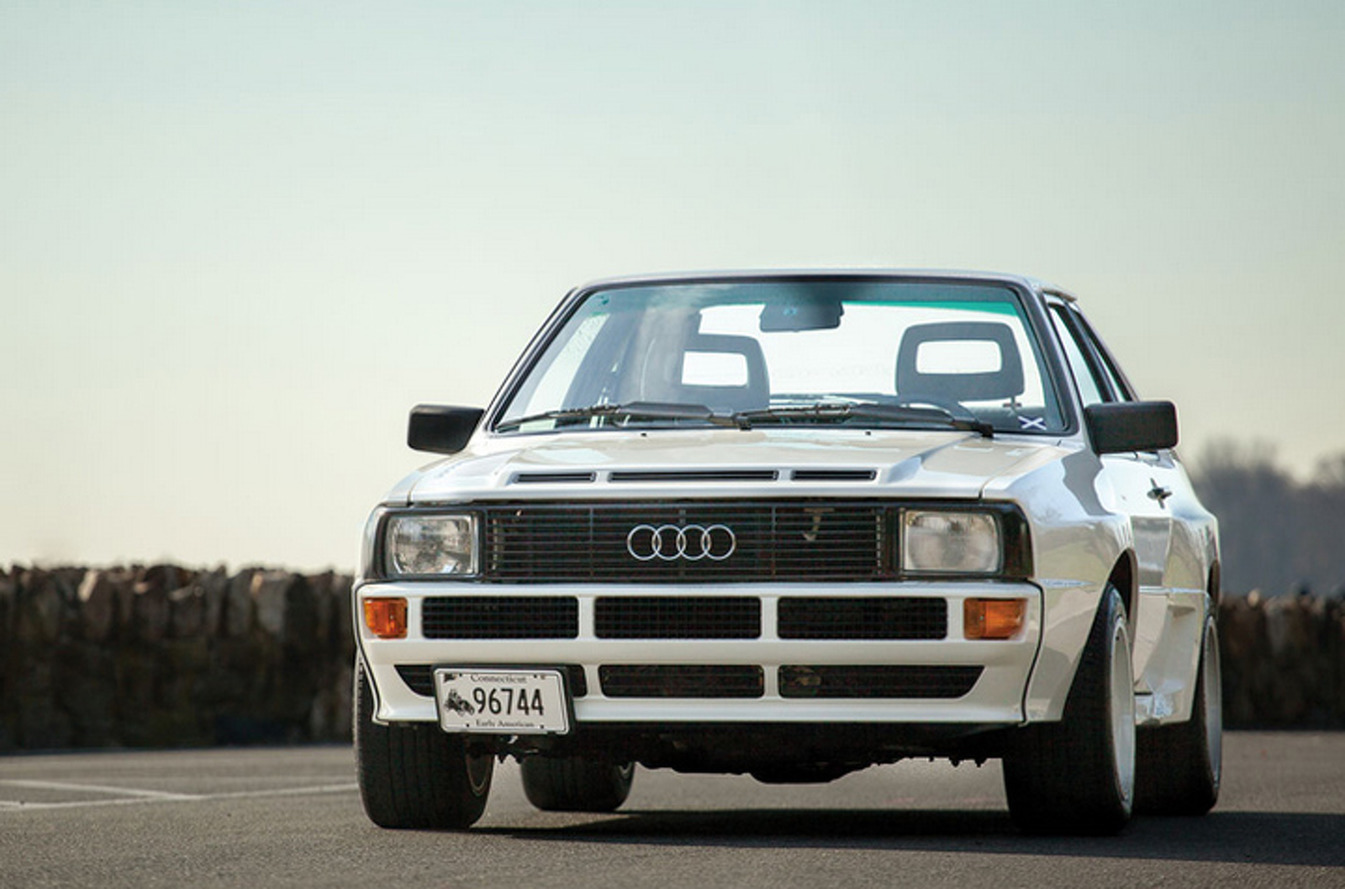 1984 Audi Sport Quattro Offers Rally-Dominating Heritage at Auction