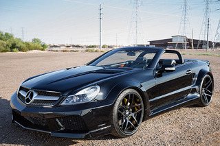 This Widebody Mercedes SL55 AMG is an Ageless Beauty