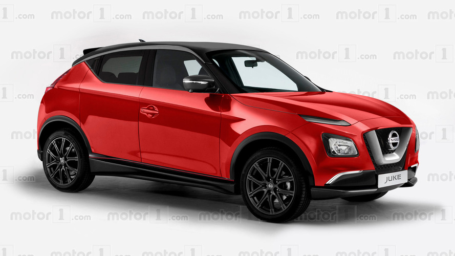 New Nissan Juke shows quirky design in speculative rendering
