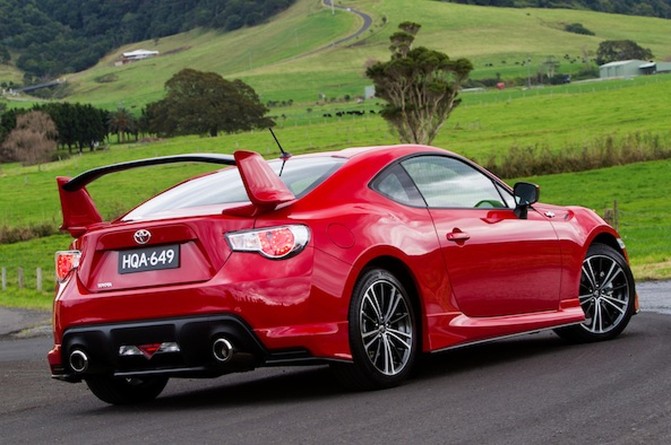 Toyota Working on GT 86 Hybrid