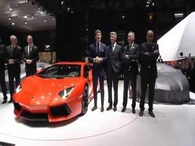 2012 Lamborghini Aventador LP700-4 reveal at 2011 Frankfurt Motor Show