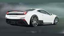 Ferrari 458 Italia gains wide body conversion from tuner