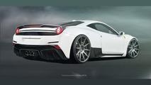 Ferrari 458 Italia gains wide body conversion from tuner