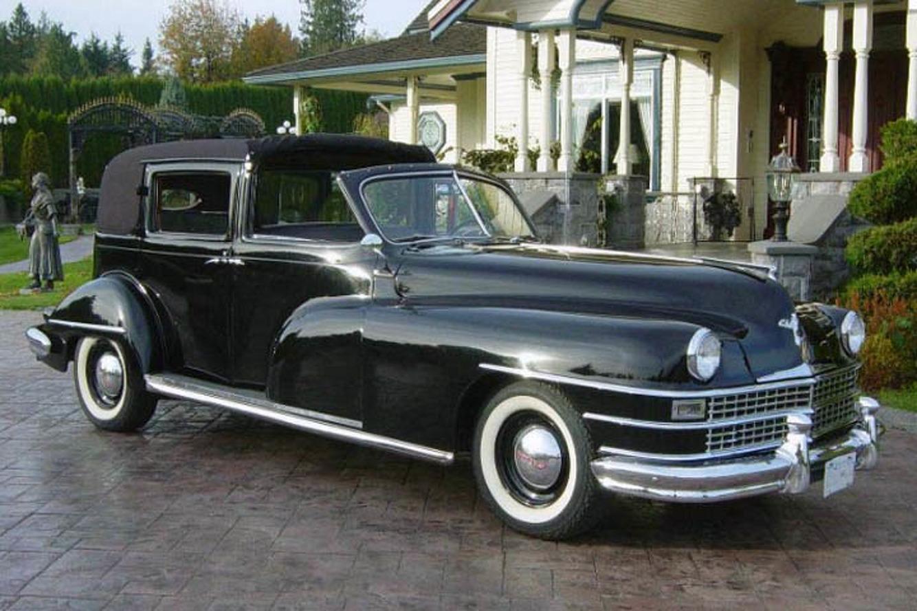 John D. Rockefeller Jr.'s 1946 Chrysler Town Car Limo Hits the Auction Block