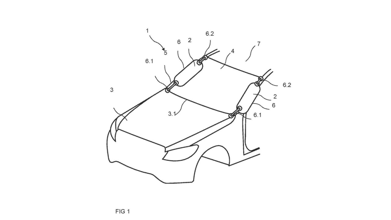 Mercedes-Benz A sütunu hava yastığı patenti