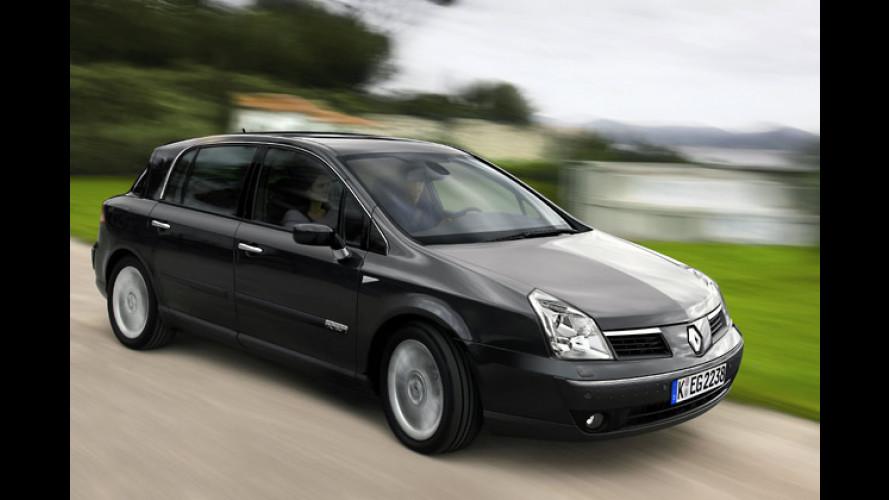 Renault Vel Satis: Neue Optik, neue Motoren, mehr Sicherheit