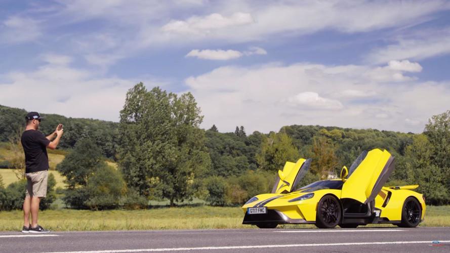 VIDÉO - Ken Block prend le volant de la Ford GT