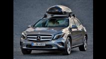 Mercedes GLA, gli accessori