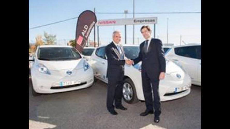 Nissan Leaf è in car sharing a Madrid e Barcellona