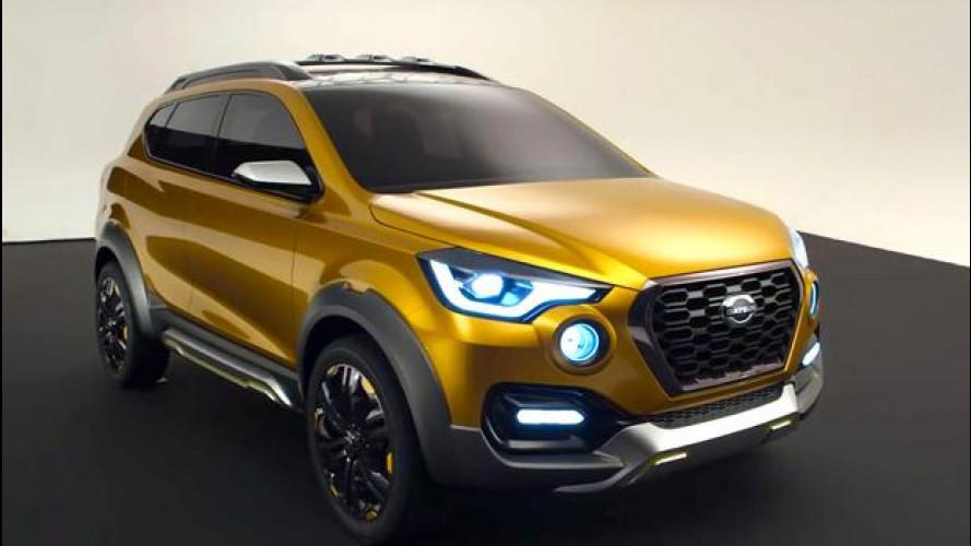 Datsun GO-cross, il SUV compatto presentato in India