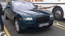 Rolls Royce Ghost Caught Undisguised