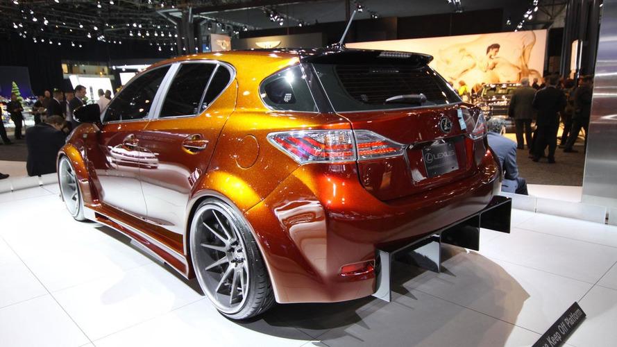 Lexus CT200h by Fox Marketing