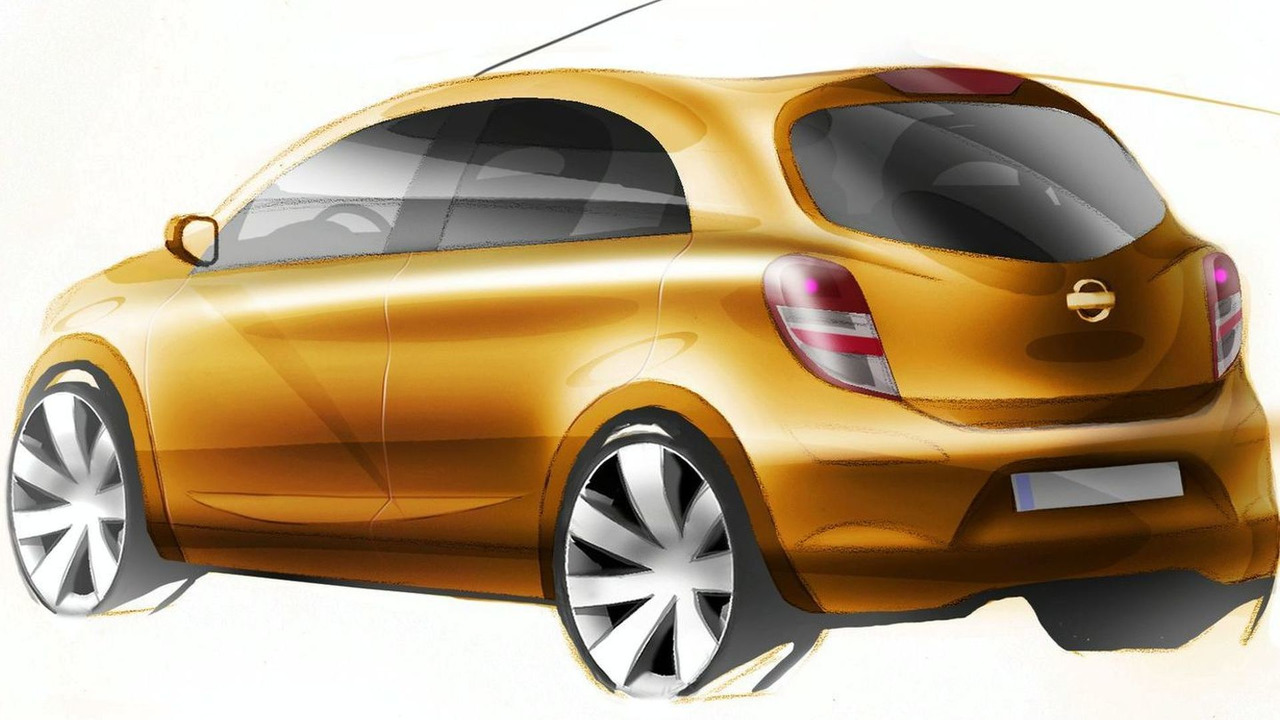 2010 Nissan Micra - Future Global Compact Car Design Sketch