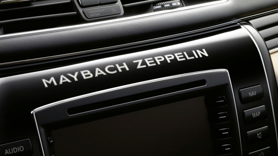 Maybach Zeppelin debuts in Geneva