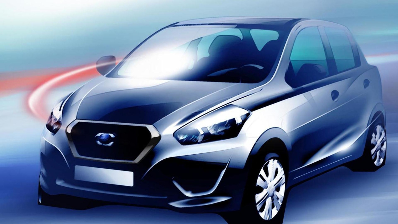 2013 Datsun teaser photo 01.07.2013
