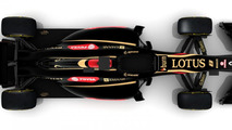 Lotus E22 2014 Formula 1 race car