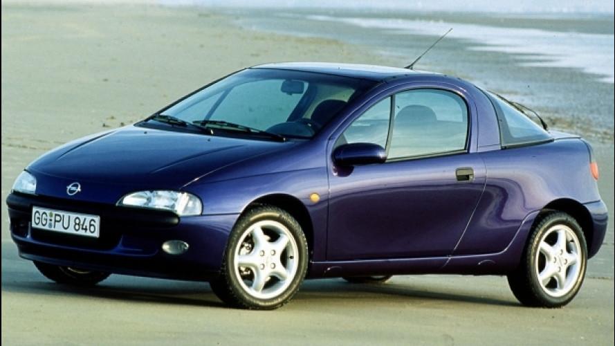Opel Tigra, la prima piccola coupé