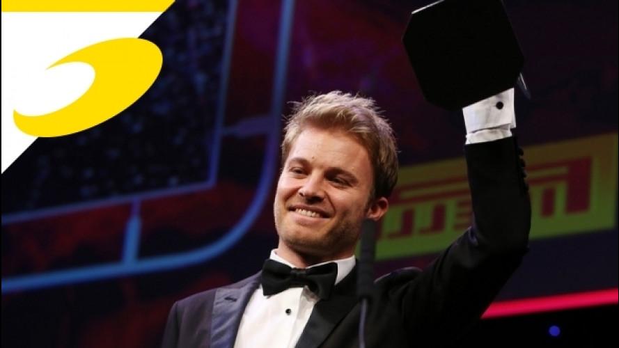 Autosport Awards: Rosberg, Hamilton e la Mercedes trionfano [VIDEO]