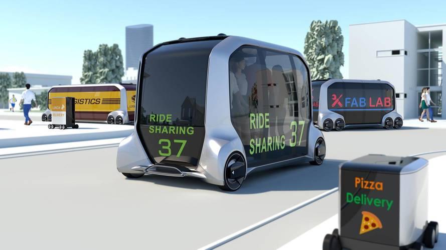 Toyota e-Palette Concept Imagines A Boxy Take Autonomous Mobility