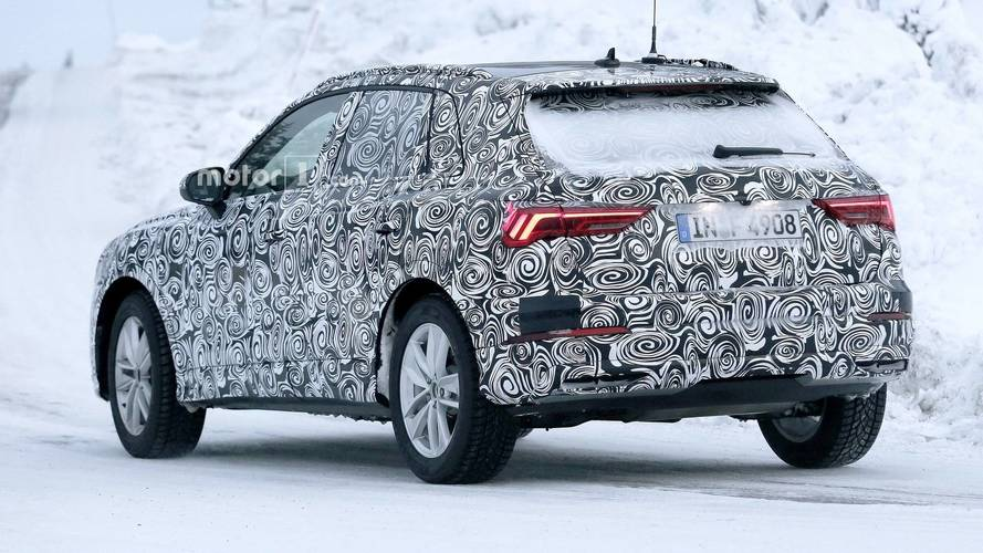 2018 Audi Q3 reveals fancy rear lights in latest spy shots