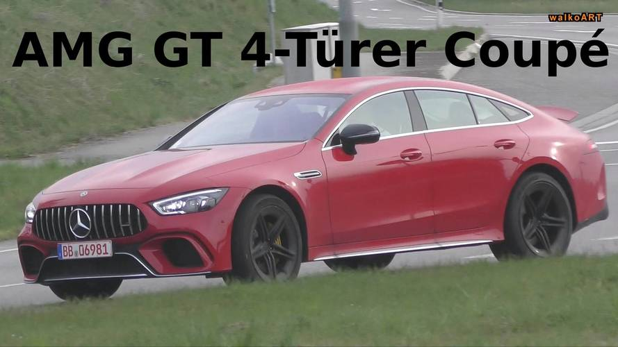 2019 Mercedes-AMG GT 4-Door Coupe Stands Out In Traffic