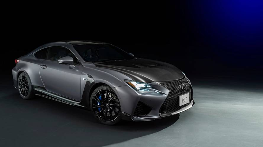 Lexus reveals special RC coupe celebrating 10 years of F badge
