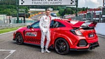 Honda Civic Type R Spa Record