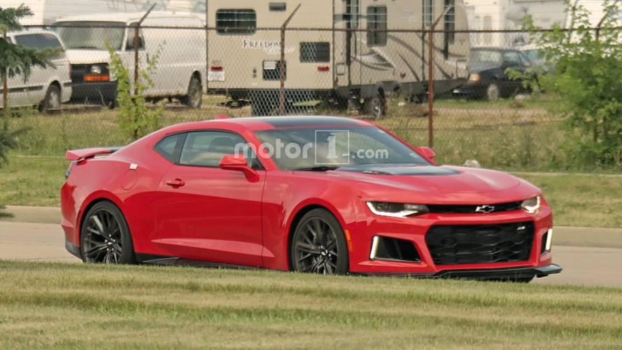 Chevrolet Camaro ZL1 2018: fotos espía