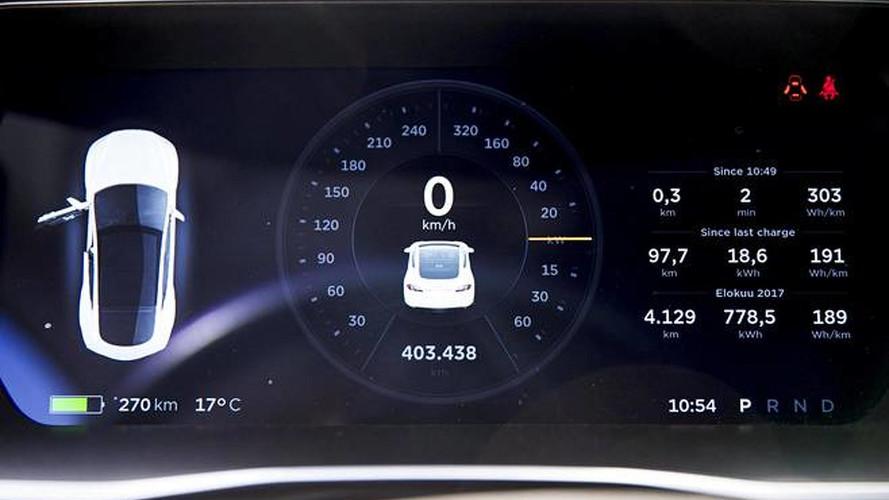400.000 km yol yapan Tesla'nın pilleri dayanıyor