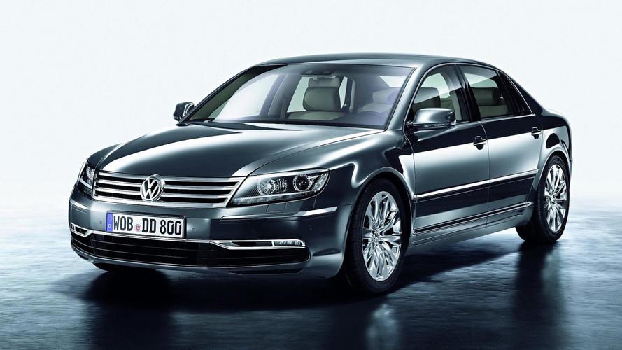 Un prototipo eléctrico anticipará el sucesor del Volkswagen Phaeton