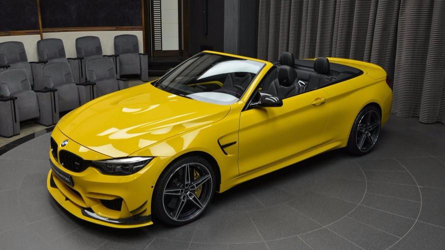 AC Schnitzer imzalı BMW M4 Cabriolet