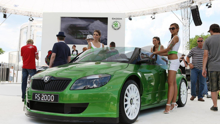 Skoda Fabia RS 2000 design concept revealed in Wörthersee