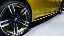BMW M4 in Austin Yellow