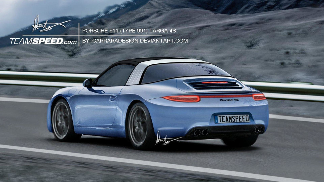 2012 Porsche 911 Targa artist speculative rendering, 1600, 22.06.2011
