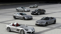Mercedes builds last batch of SLRs - Stirling Moss editions