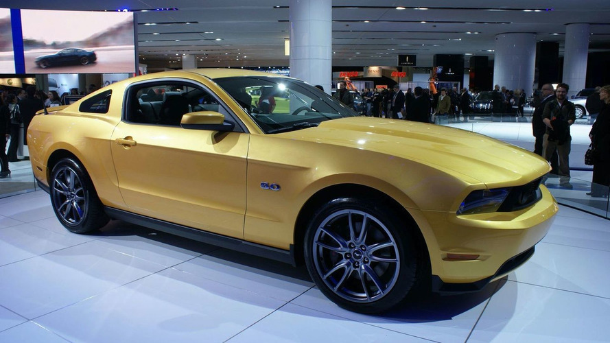 2011 Ford Mustang Live in Detroit