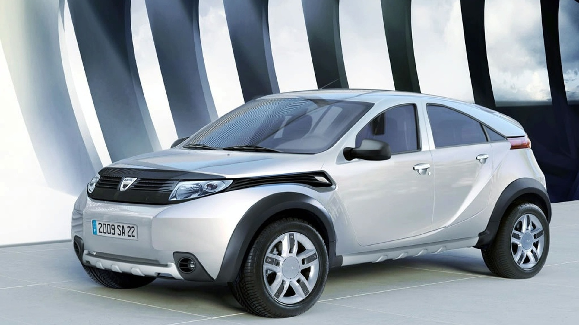 alleged dacia duster suv production version leaked. Black Bedroom Furniture Sets. Home Design Ideas