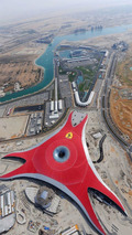 Ferrari World in Abu Dhabi Nearing Completion - Opens in 2010