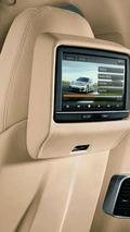 Porsche Panamera rear seat entertainment screen