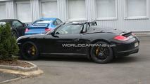 Porsche Boxster Speedster Spy Photos