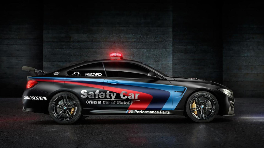 2015 BMW M4 Coupe MotoGP safety car unveiled with water injection system [video]