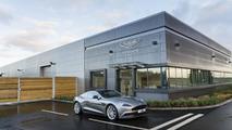 Aston Martin development center at the MIRA Technology Park