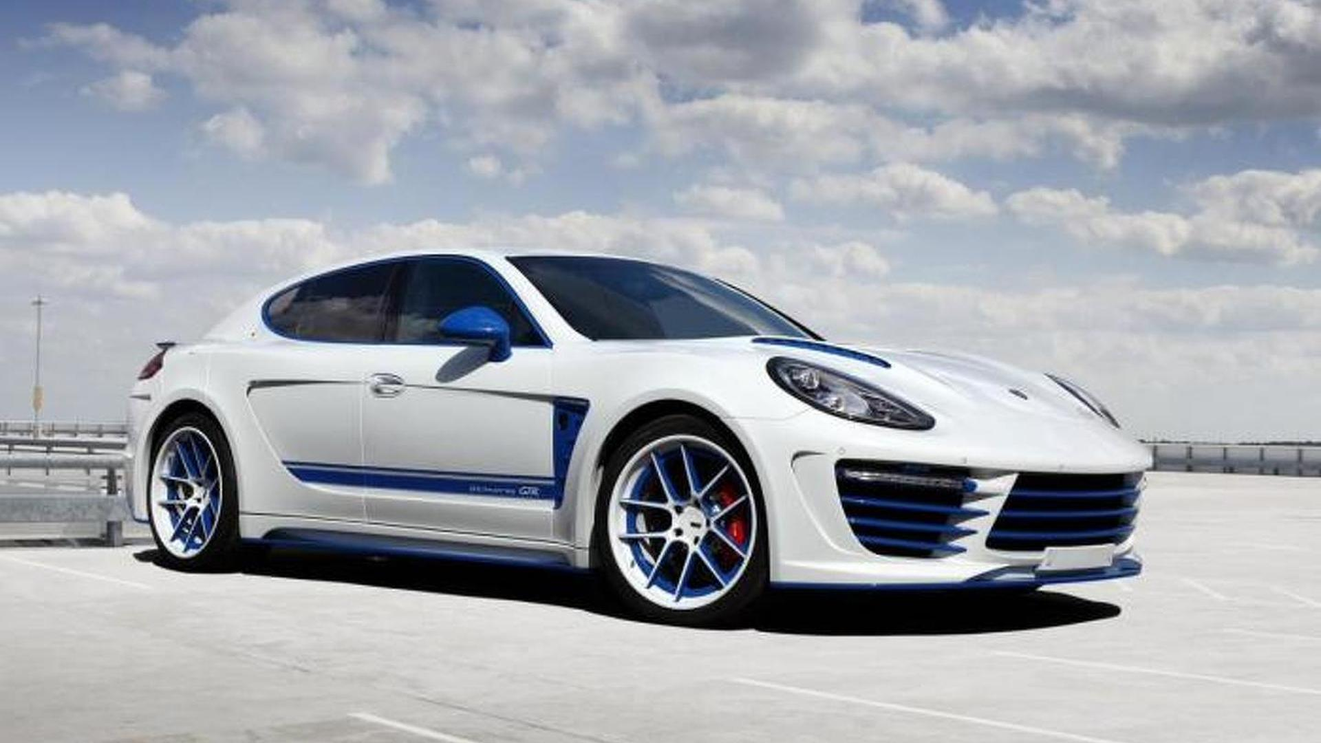 Porsche Panamera Stingray GTR Blue. Тюнинг от TopCar