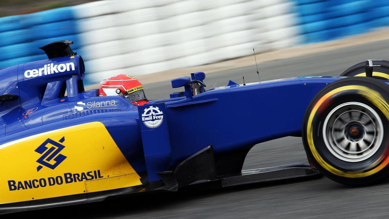 Felipe Nasr (BRA), Sauber C34, 03.02.2015, Formula One Testing, Day Three, Jerez, Spain / XPB