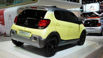 Citroen C1 Urban Ride concept live in Paris